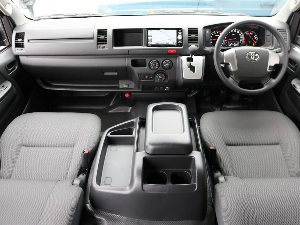 内外装ライトにカスタムを施したハイエースバン スーパーロングが入庫致しました♪ | トヨタ ハイエースバン 2.8 DX ワイド スーパーロング ハイルーフ GLパッケージ ディーゼルターボ 4WD 床張りライトカスタム