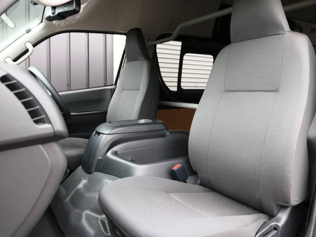 5人乗り1ナンバー登録のハイエースバン♪ | トヨタ ハイエースバン 2.8 DX ワイド スーパーロング ハイルーフ GLパッケージ ディーゼルターボ 4WD 床張りライトカスタム