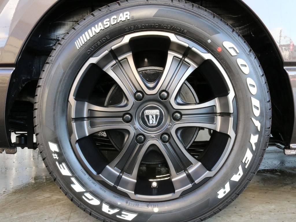 タイヤはグッドイヤーナスカータイヤ17インチ!!