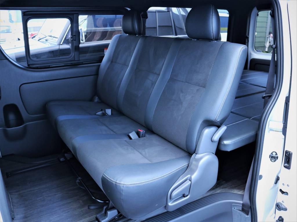 セカンドシート! | トヨタ ハイエースバン 2.8 スーパーGL ダークプライムⅡ ロングボディ ディーゼルターボ アレンジFU