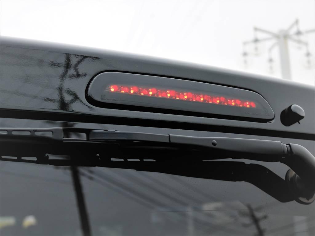 ヴァレンティーLEDハイマウントストップランプ! | トヨタ ハイエースバン 2.8 スーパーGL ダークプライムⅡ ロングボディ ディーゼルターボ Delfinoカスタム フルセグナビ