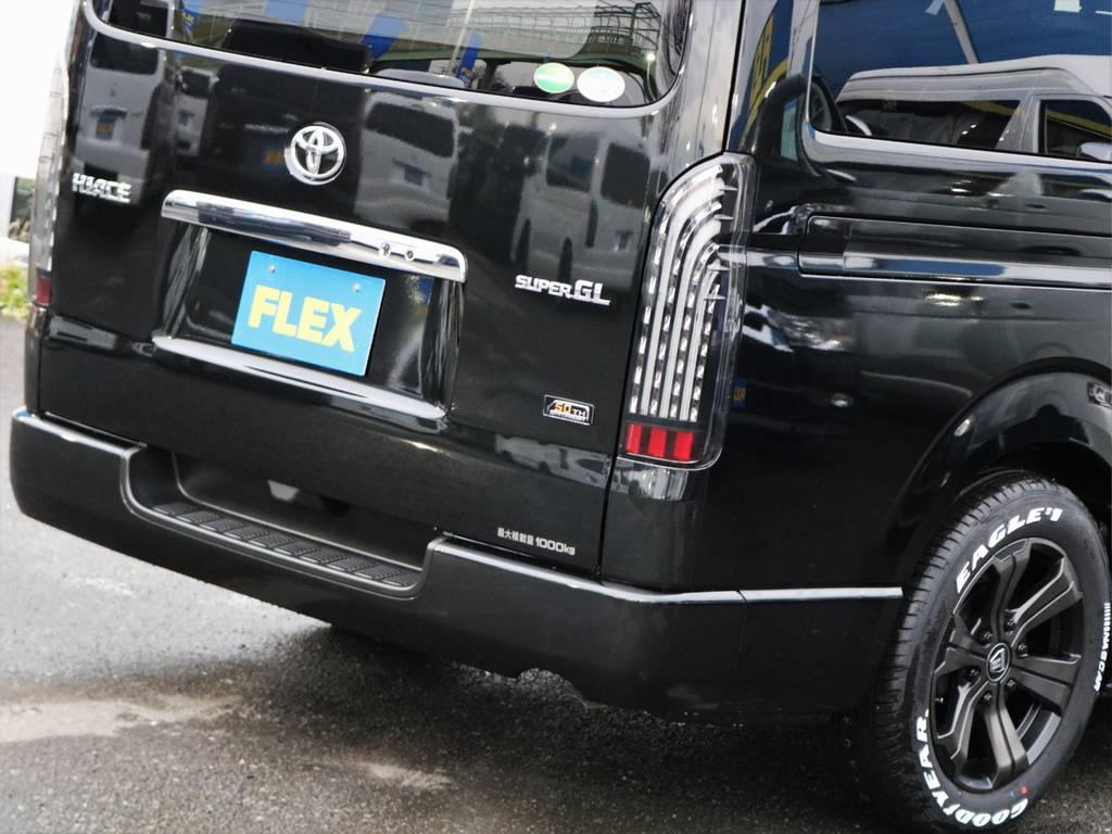 最大乗車人数5人!荷物も人もたくさん乗ります♪ | トヨタ ハイエースバン 2.8 スーパーGL 50TH アニバーサリー リミテッド ロングボディ ディーゼルターボ FLEXカスタム フルセグナビPKG