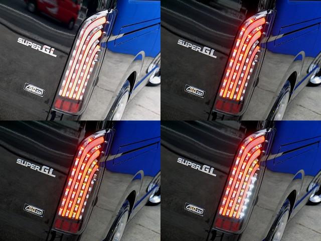 ノーマルとは一味ちがったリアビューを演出してくれますよ☆ | トヨタ ハイエースバン 2.0 スーパーGL 50TH アニバーサリー リミテッド ロングボディ スポーツカスタム