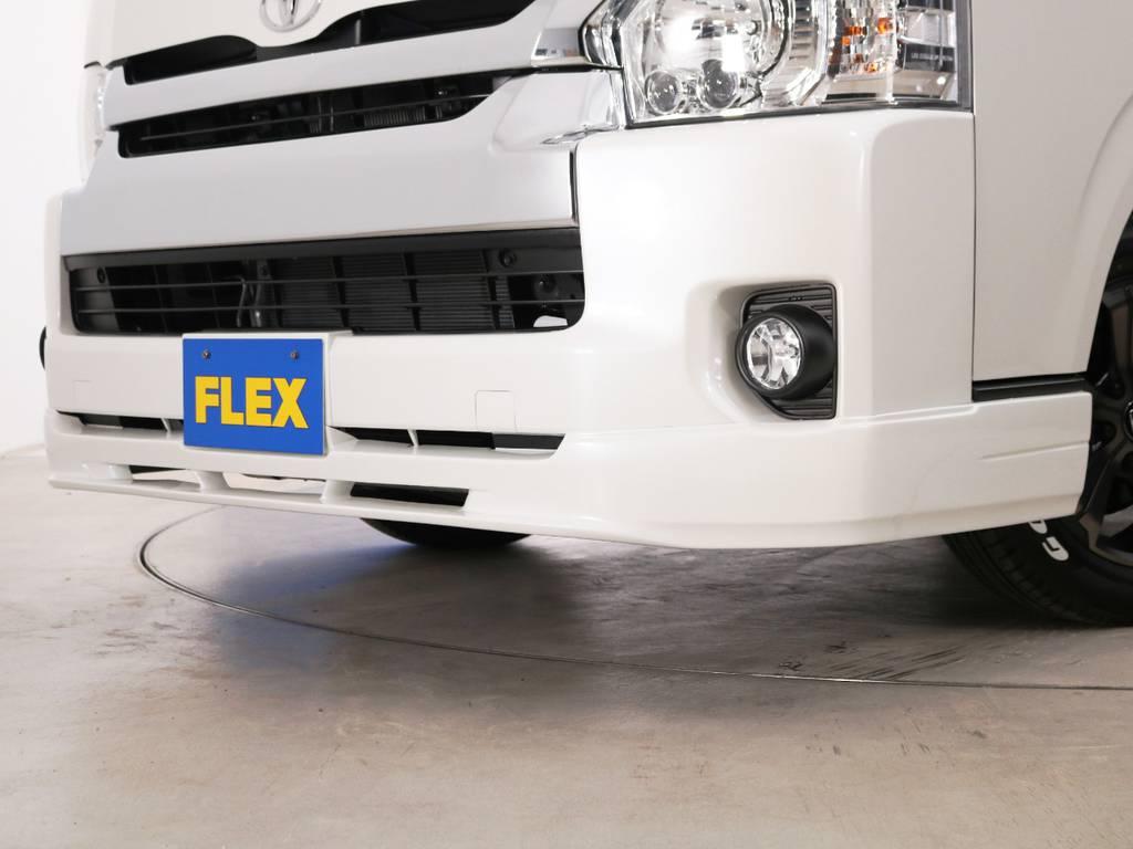 FLEXオリジナル フロントリップスポイラー Ver2♪