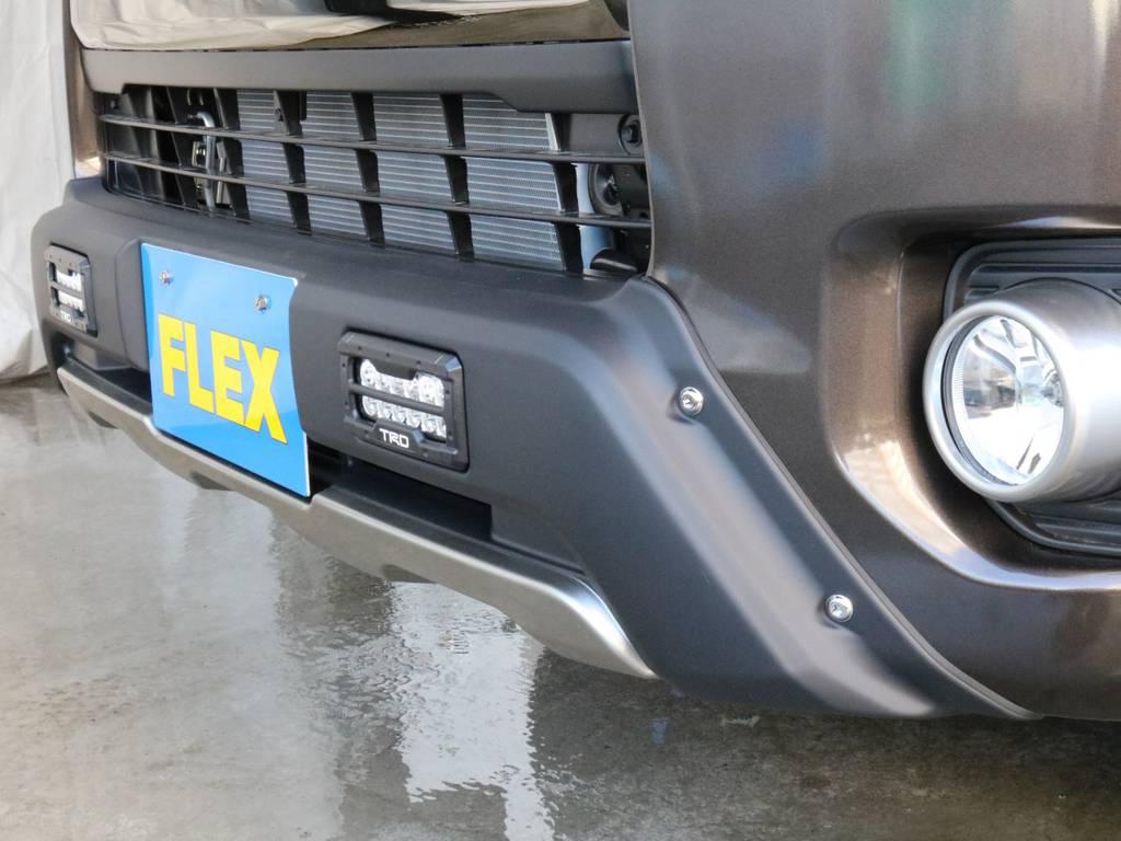 TRDバンパー装着!! | トヨタ ハイエースバン 2.0 スーパーGL 50TH アニバーサリー リミテッド ロングボディ TRDバンパー・オフロード仕様