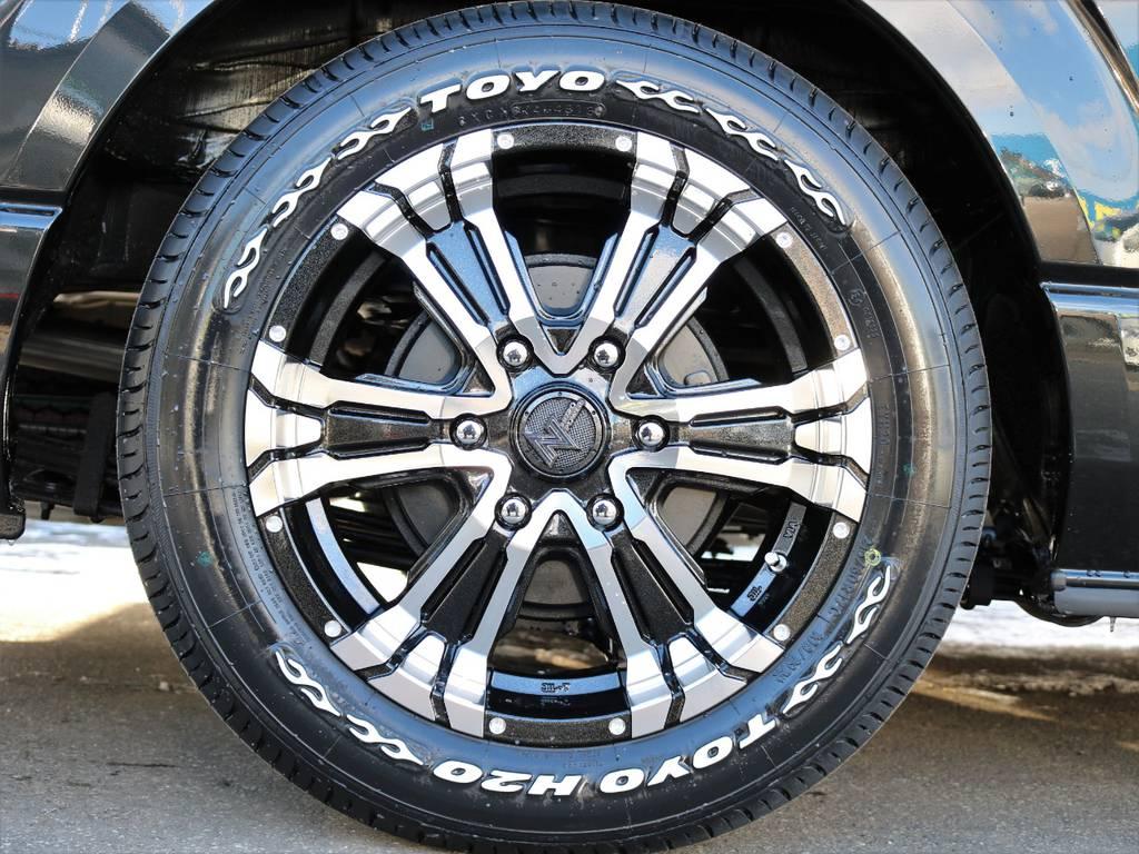 ナイトロパワー クロスクロウ17inアルミホイール   トヨタ ハイエースバン 2.7 スーパーGL 50THアニバーサリー リミテッド ワイド ミドルルーフ ロングボディ4WD ナビ&ベッドキッドパッケージ