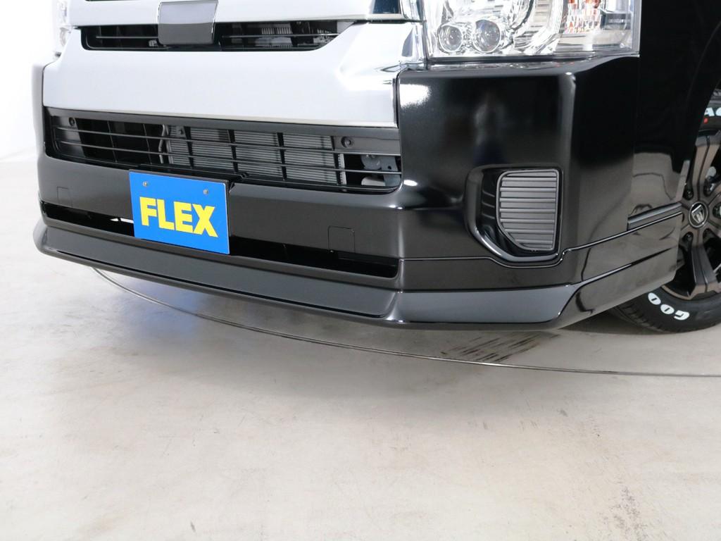 FLEXオリジナル Delfinoline フロントリップスポイラー!