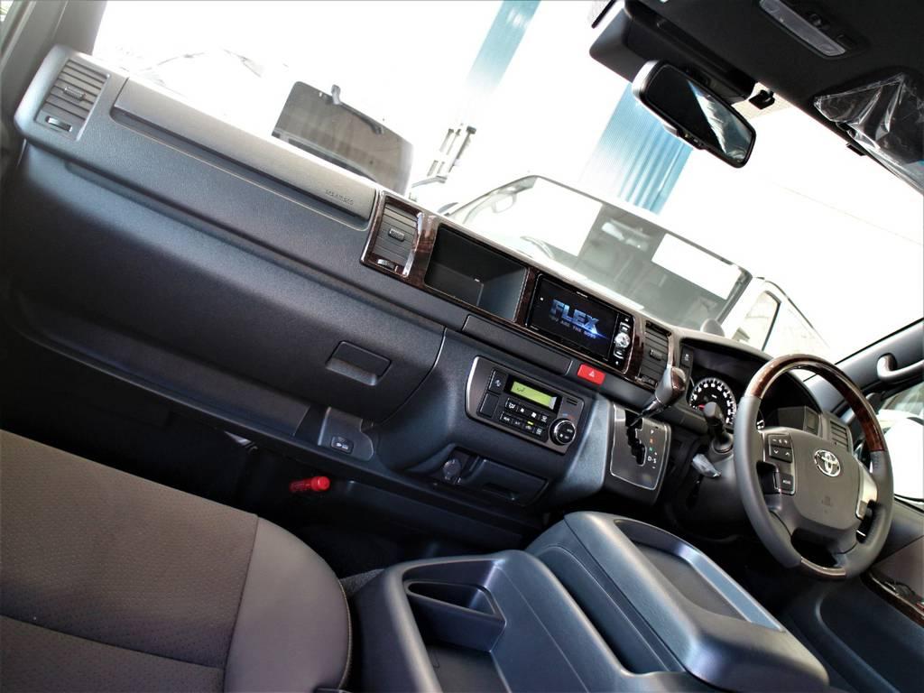 特別仕様車専用内装です! | トヨタ ハイエースバン 2.7 スーパーGL 50THアニバーサリー リミテッド ワイド ミドルルーフ ロングボディ4WD