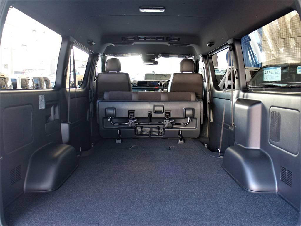 広々としたラゲッジスペース! | トヨタ ハイエースバン 2.7 スーパーGL 50THアニバーサリー リミテッド ワイド ミドルルーフ ロングボディ4WD
