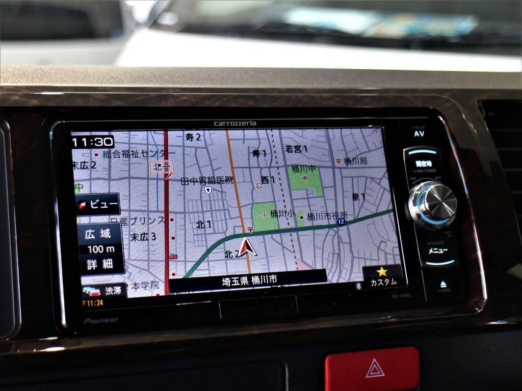 カロッツェリアSDナビ! | トヨタ ハイエースバン 2.7 スーパーGL 50THアニバーサリー リミテッド ワイド ミドルルーフ ロングボディ4WD