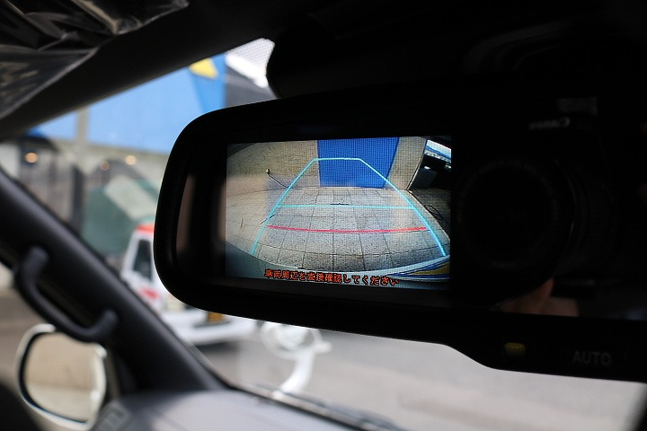 バックカメラ付き防眩ミラー! | トヨタ ハイエースバン 2.7 スーパーGL 50THアニバーサリー リミテッド ワイド ミドルルーフ ロングボディ4WD 50TH