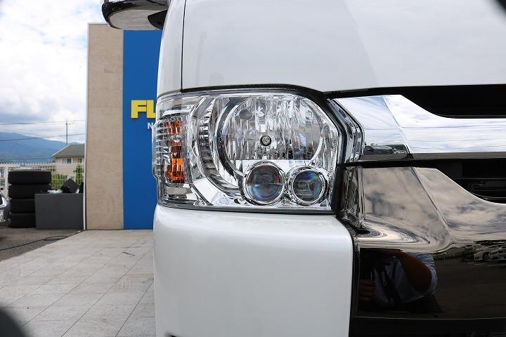 トヨタ純正LEDヘッドランプ! | トヨタ ハイエースバン 2.7 スーパーGL 50THアニバーサリー リミテッド ワイド ミドルルーフ ロングボディ4WD 50TH