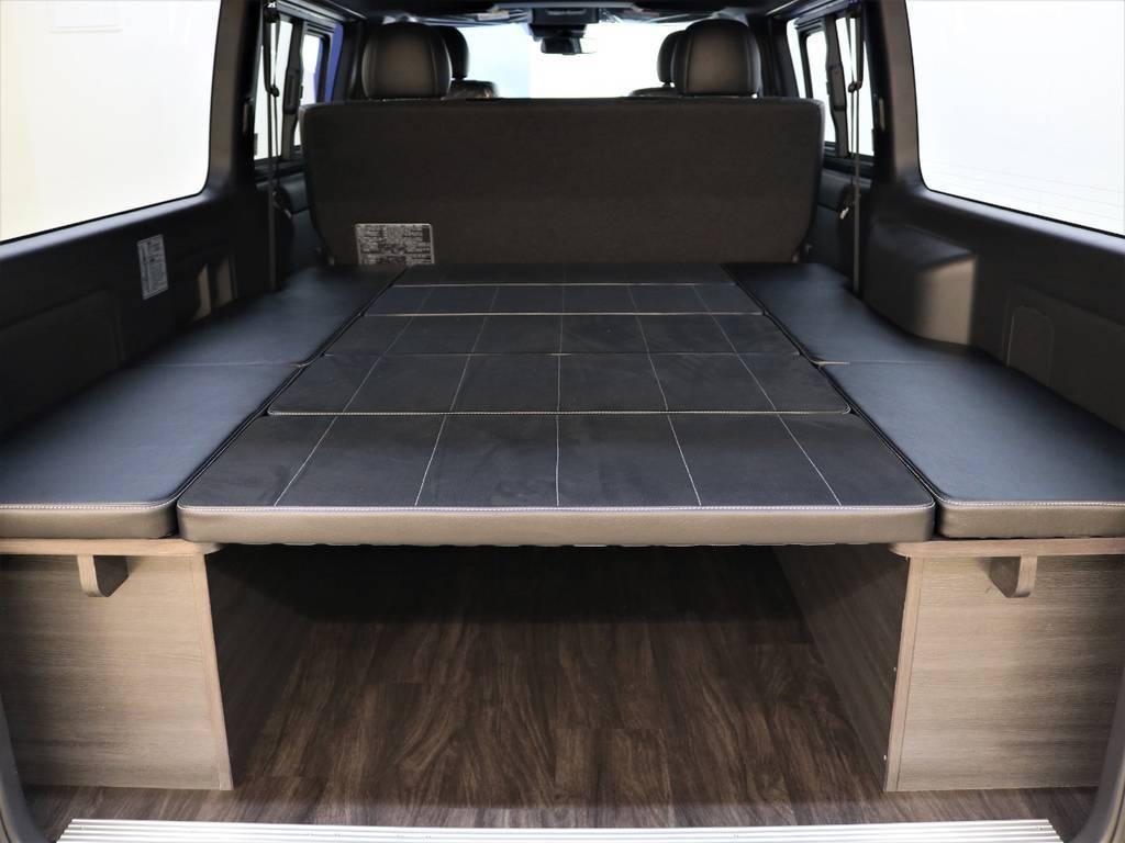 車中泊にピッタリですね! | トヨタ ハイエースバン 2.8 スーパーGL ダークプライムⅡ ロングボディ ディーゼルターボ 4WD Ver.4 DPⅡ