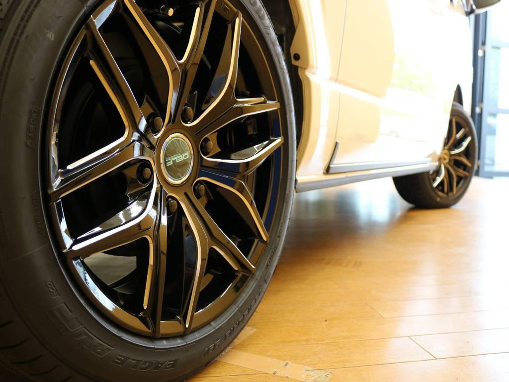 スポークのデザインが病みつきになります! | トヨタ ハイエースバン 2.8 スーパーGL ダークプライムⅡ ロングボディ ディーゼルターボ 4WD Ver.4 DPⅡ