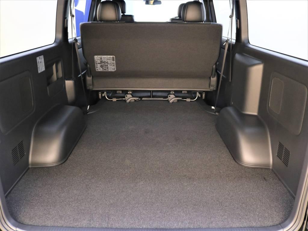 広々としたラゲッジルーム! | トヨタ ハイエースバン 2.8 スーパーGL ダークプライムⅡ ロングボディ ディーゼルターボ 4WD ライトカスタム  ナビ・ETC付