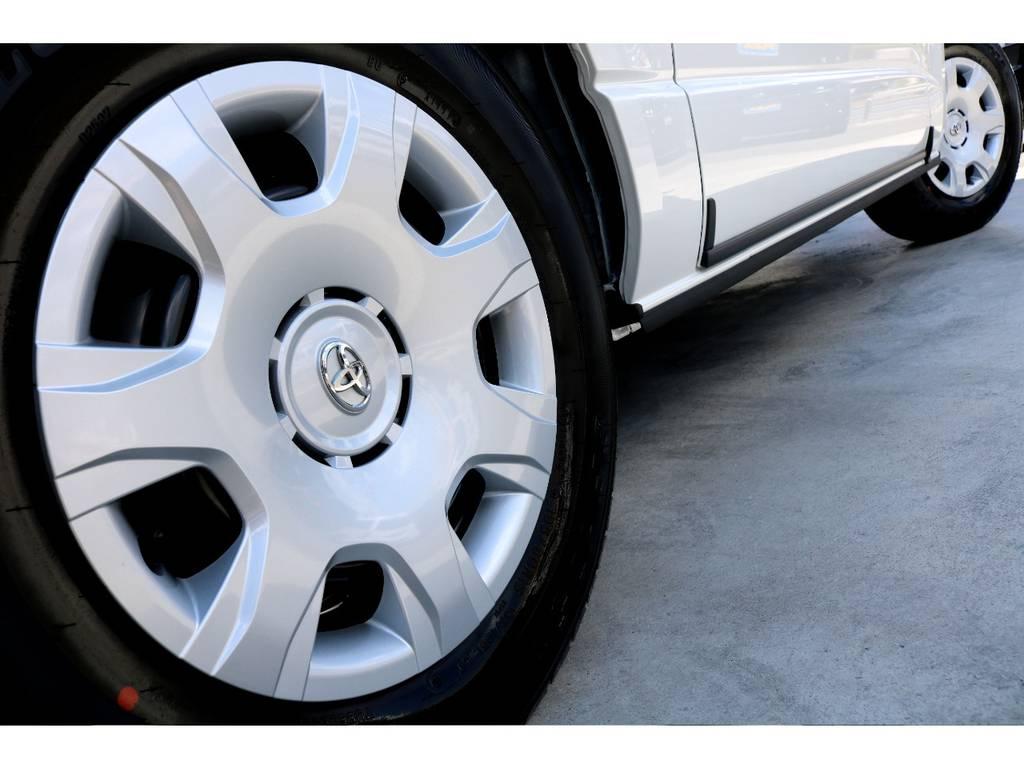 タイヤ、ホイール変更のご相談もお待ちしております!! | トヨタ ハイエースバン 2.8 スーパーGL 50TH アニバーサリー リミテッド ロングボディ ディーゼルターボ 4WD ナビPKG