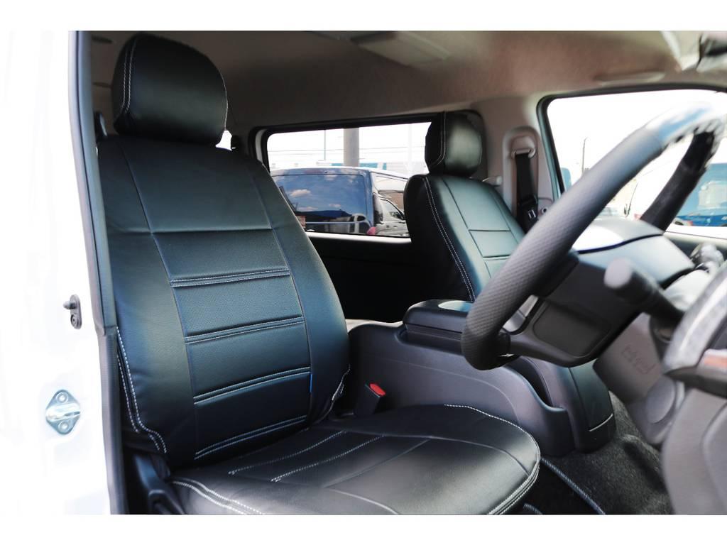 座席位置が高いので、視界良好です! | トヨタ ハイエース 2.7 GL ロング ミドルルーフ アレンジR1
