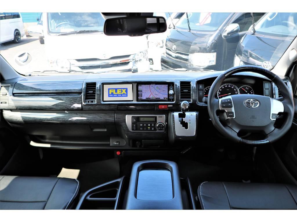 内外装ともにカスタム済みのお買い得な1台です! | トヨタ ハイエース 2.7 GL ロング ミドルルーフ アレンジR1