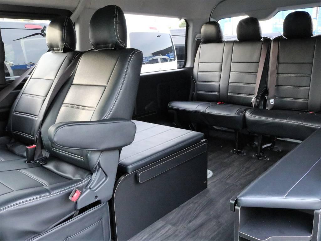 取り外し、収納可能なマットです! | トヨタ ハイエース 2.7 GL ロング ミドルルーフ アレンジR1
