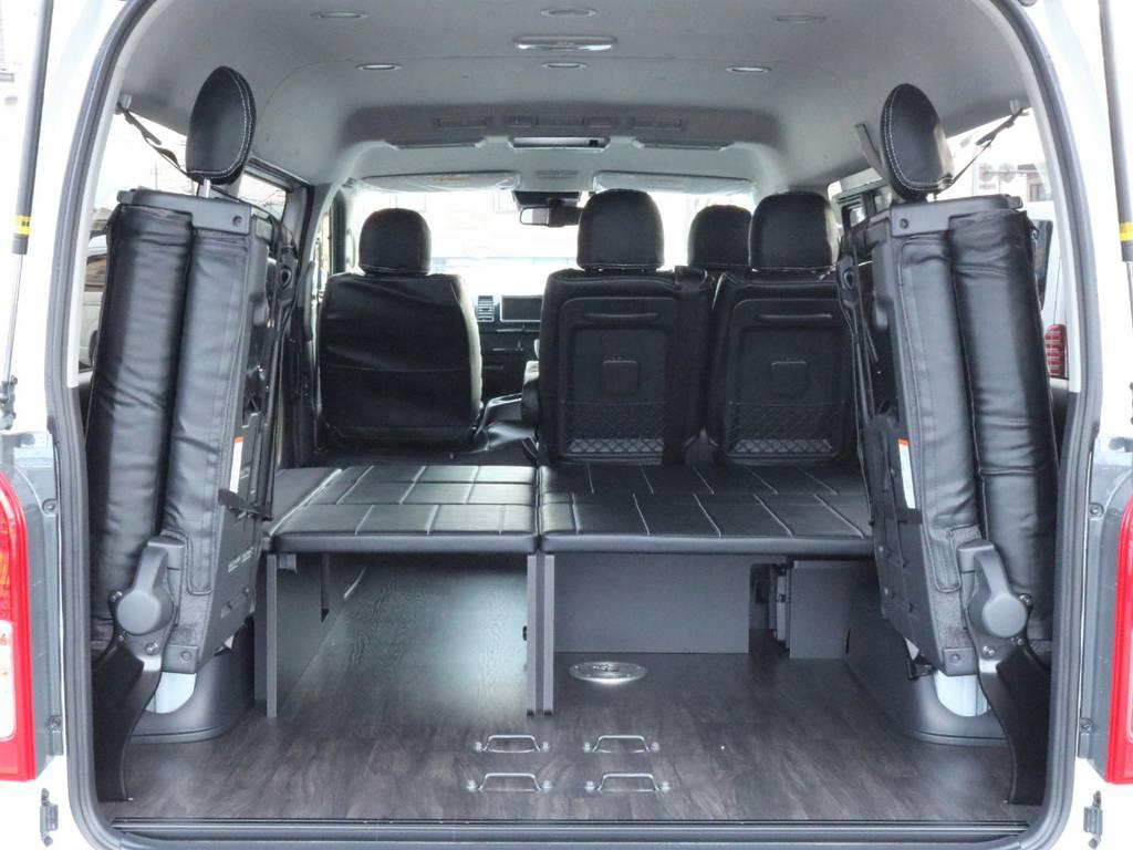 荷物も人もたくさんのる使いやすい1台です! | トヨタ ハイエース 2.7 GL ロング ミドルルーフ アレンジR1