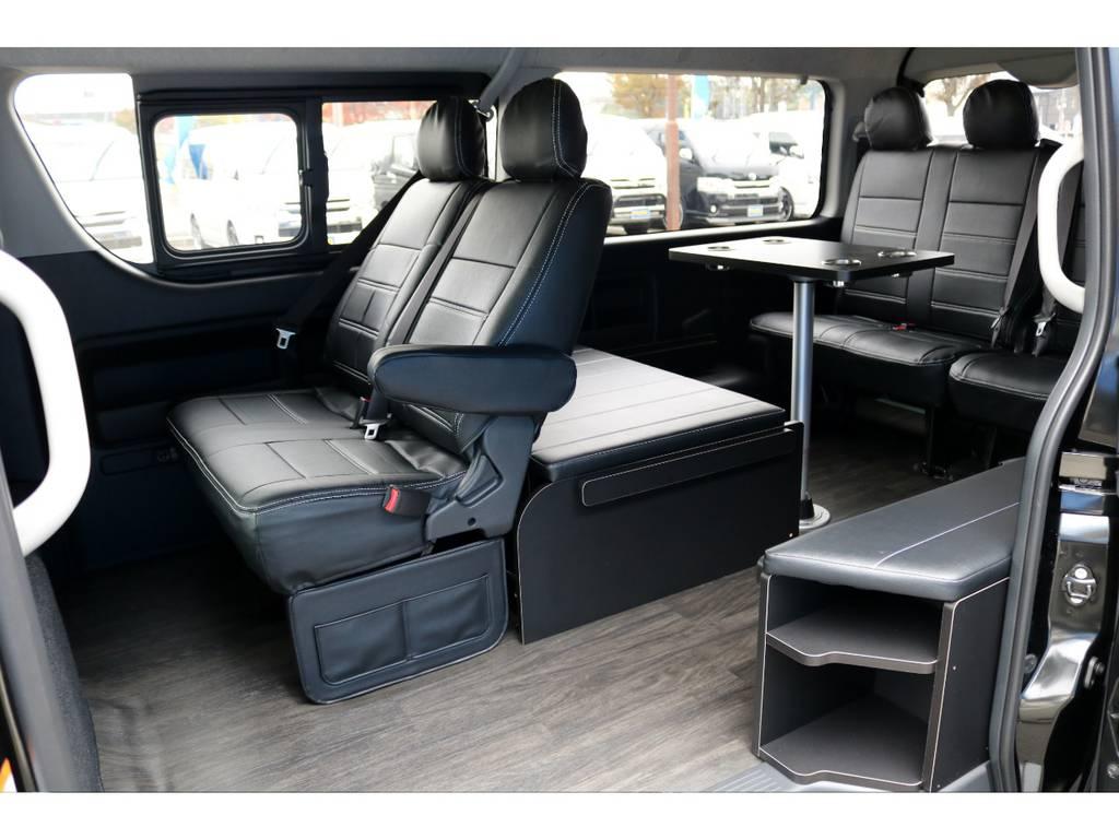オリジナル内装架装「アレンジR1」! | トヨタ ハイエース 2.7 GL ロング ミドルルーフ 4WD アレンジR1