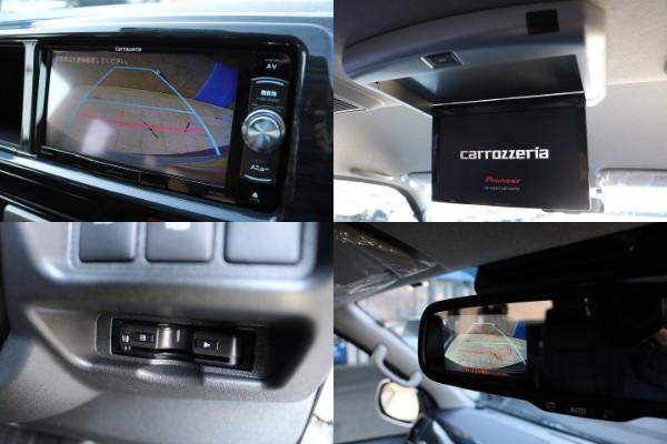 嬉しいアイテムフィリップダウンモニター付きでお子様との長距離ドライブの安心です。   トヨタ ハイエース 2.7 GL ロング ミドルルーフ 4WD TSS付