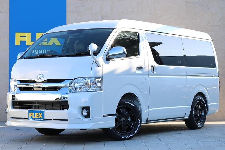 トヨタセーフティーセンス付ハイエースワゴンGL-4WD入庫!New内装架装オリジナルVer1新入庫です!