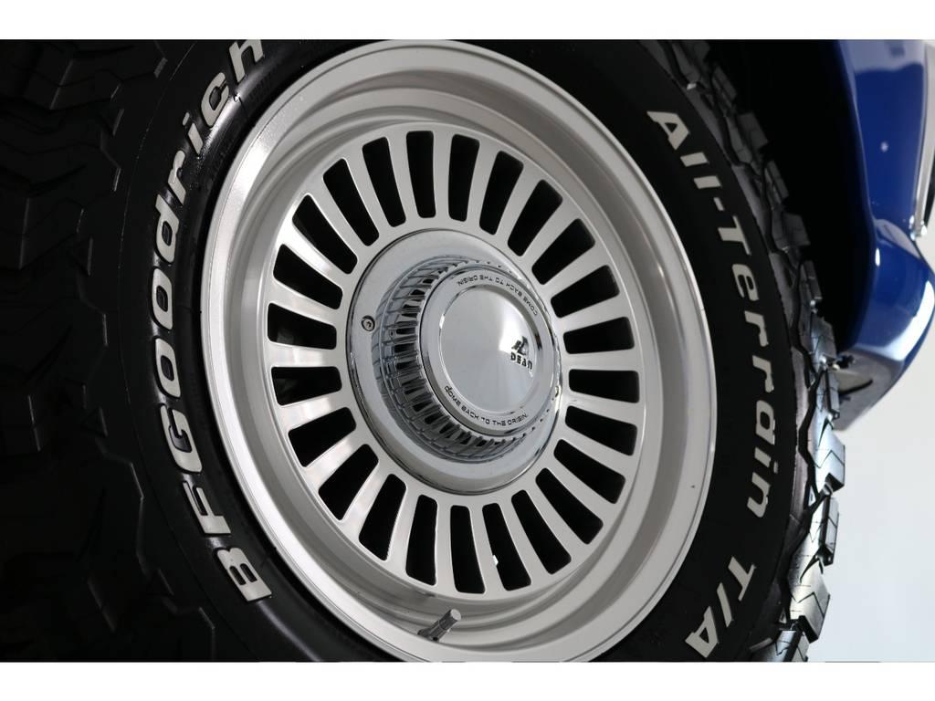 DEANカルフォルニアAWにBFグッドリッチATを装着! | トヨタ ハイラックス 2.4 Z ディーゼルターボ 4WD Z 11インチナビ 2インチUP