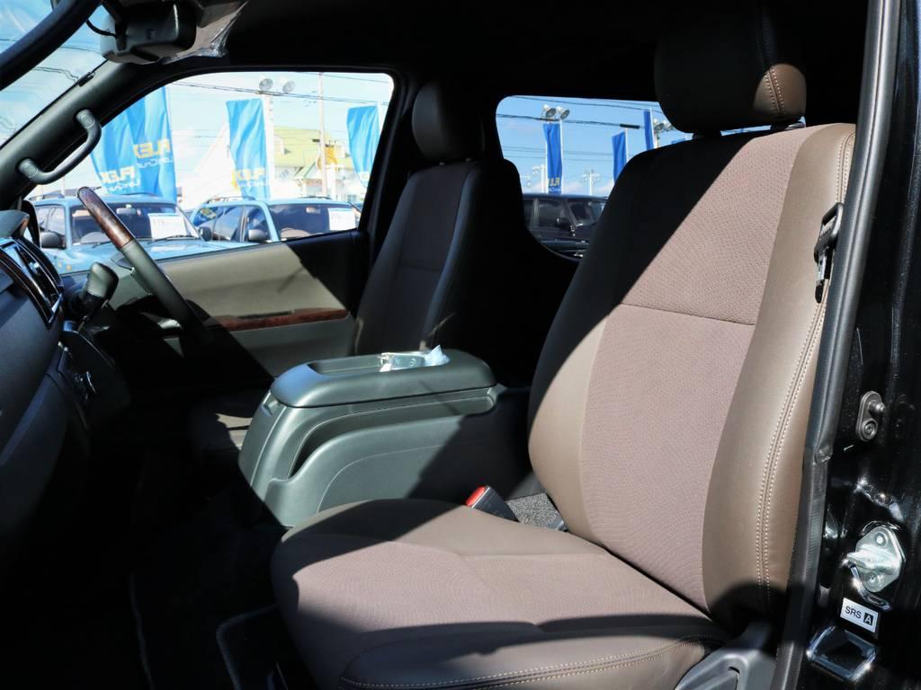 助手席周り | トヨタ ハイエースバン 2.0 スーパーGL 50TH アニバーサリー リミテッド ロングボディ ライトカスタム