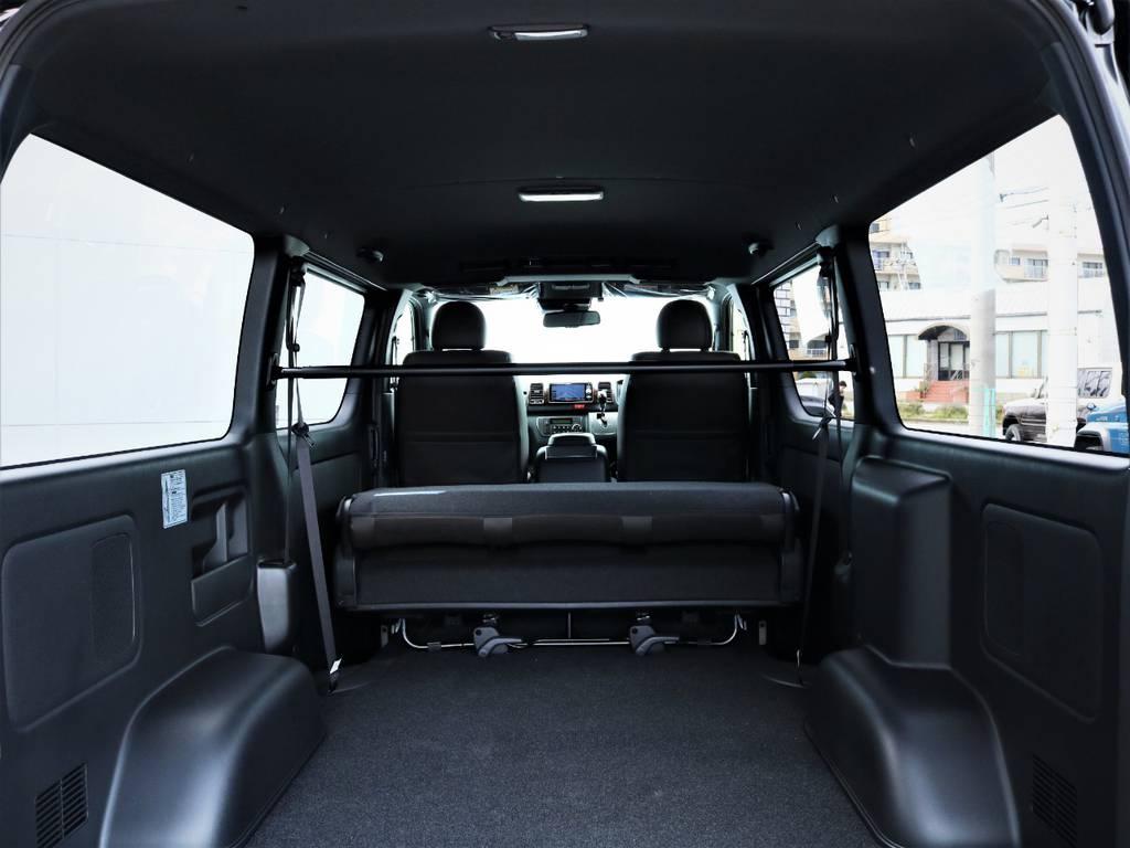 天井ブラックで統一! | トヨタ ハイエースバン 2.0 スーパーGL 50TH アニバーサリー リミテッド ロングボディ 50TH