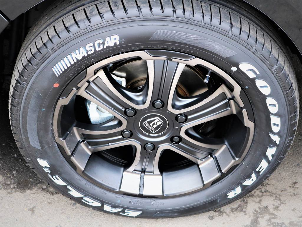 バルベロ17インチアルミホイール、ナスカータイヤ! | トヨタ ハイエースバン 2.0 スーパーGL 50TH アニバーサリー リミテッド ロングボディ 50TH
