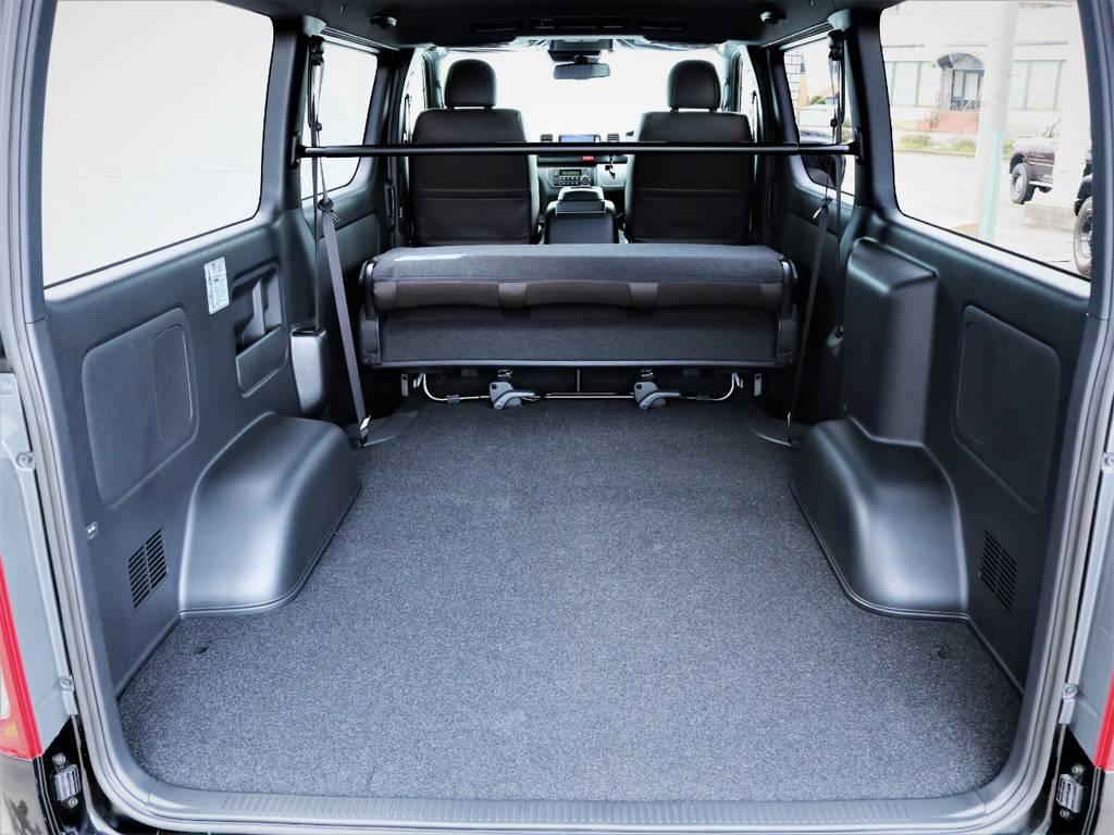 収納スペース広々御座います! | トヨタ ハイエースバン 2.0 スーパーGL 50TH アニバーサリー リミテッド ロングボディ 50TH