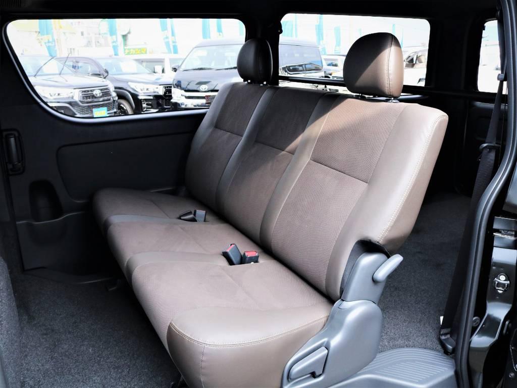 セカンドシート! | トヨタ ハイエースバン 2.0 スーパーGL 50TH アニバーサリー リミテッド ロングボディ 50TH