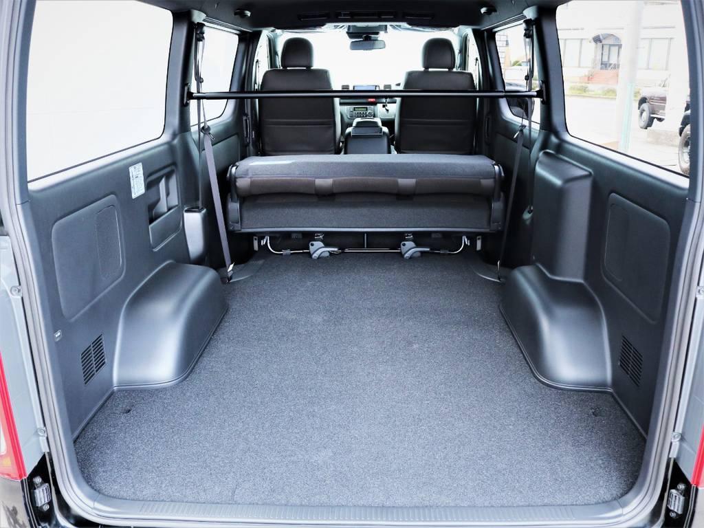 収納スペース広々御座います!何でも収納可能です。 | トヨタ ハイエースバン 2.8 スーパーGL 50TH アニバーサリー リミテッド ロングボディ ディーゼルターボ 50TH