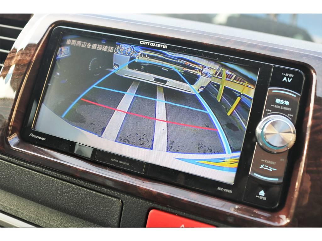 有ると安心のバックカメラ付!! | トヨタ ハイエースバン 2.8 スーパーGL 50TH アニバーサリー リミテッド ロングボディ ディーゼルターボ 4WD 50TH