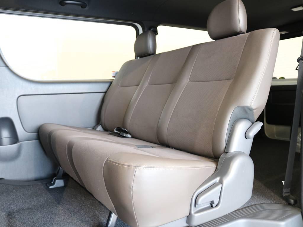2ndシートもハーフレザー! | トヨタ ハイエースバン 2.8 スーパーGL 50TH アニバーサリー リミテッド ロングボディ ディーゼルターボ 4WD 415COBRAコンプリート
