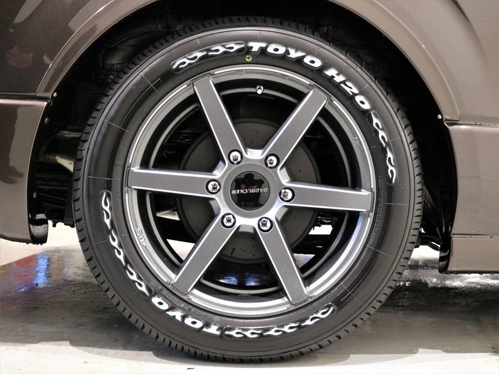 415コブラSD-6 17in/TOYOH20タイヤ! | トヨタ ハイエースバン 2.8 スーパーGL 50TH アニバーサリー リミテッド ロングボディ ディーゼルターボ 4WD 415COBRAコンプリート