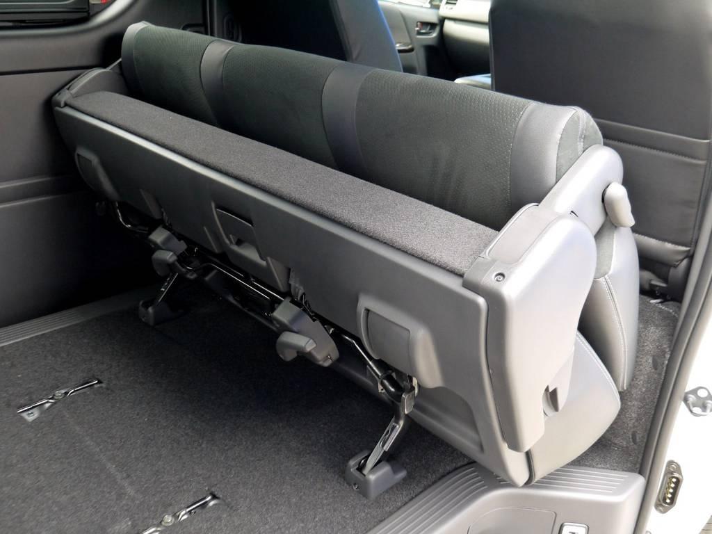 跳ね上げもできますよ☆ | トヨタ ハイエースバン 2.8 スーパーGL ダークプライムⅡ ロングボディ ディーゼルターボ ライトカスタムパッケージ