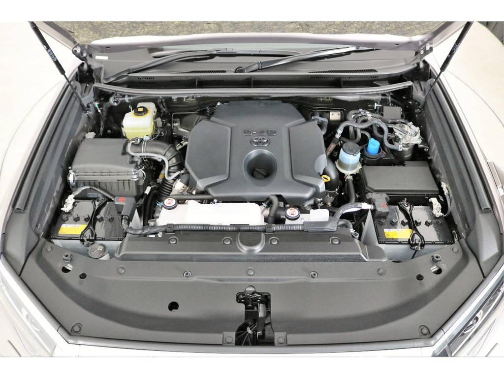 店舗敷地内に工場完備ですので車検から整備までお任せください。   トヨタ ランドクルーザープラド 2.8 TX ディーゼルターボ 4WD 7人 新車未登録車 9インチナビ