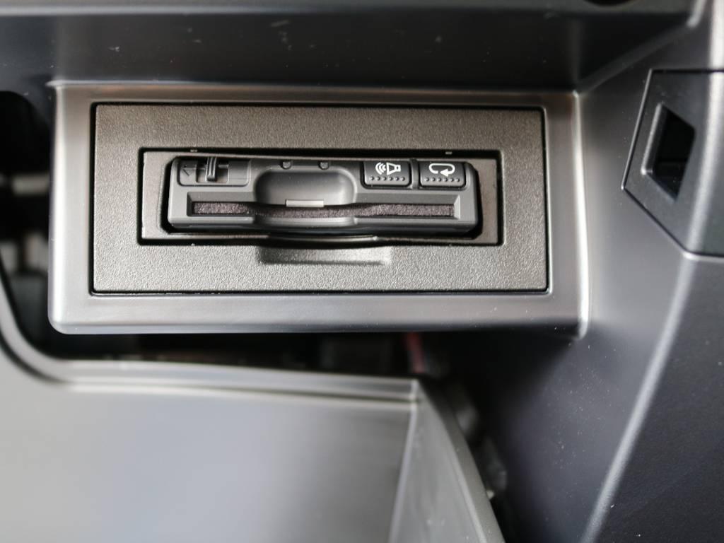 必需品のETCも新品装着!   トヨタ ランドクルーザープラド 2.8 TX ディーゼルターボ 4WD 7人 新車未登録車 9インチナビ