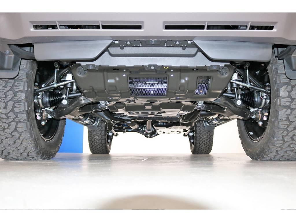 ご希望がございましたら下廻り防腐パスター仕上げもできます!お気軽にご相談ください!   トヨタ ランドクルーザープラド 2.8 TX ディーゼルターボ 4WD 7人 新車未登録車 9インチナビ