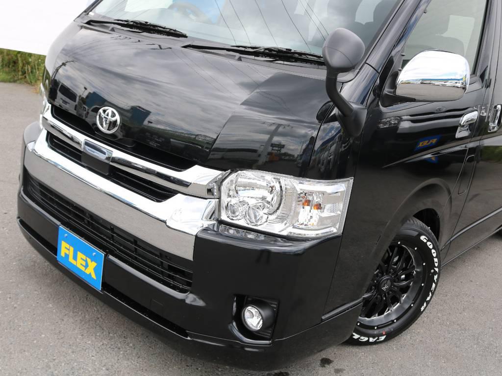 トヨタセーフティーセンス(安全装置)でご家族での安全なドライブの手助けに♪ | トヨタ ハイエース 2.7 GL ロング ミドルルーフ TSS付 R1