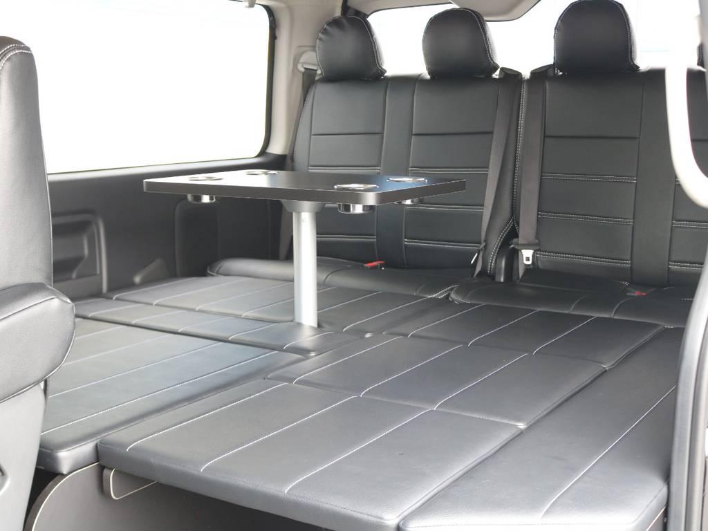 FLEXのオリジナル内装アレンジR1!様々な場面で活躍してくれます♪ | トヨタ ハイエース 2.7 GL ロング ミドルルーフ TSS付 R1