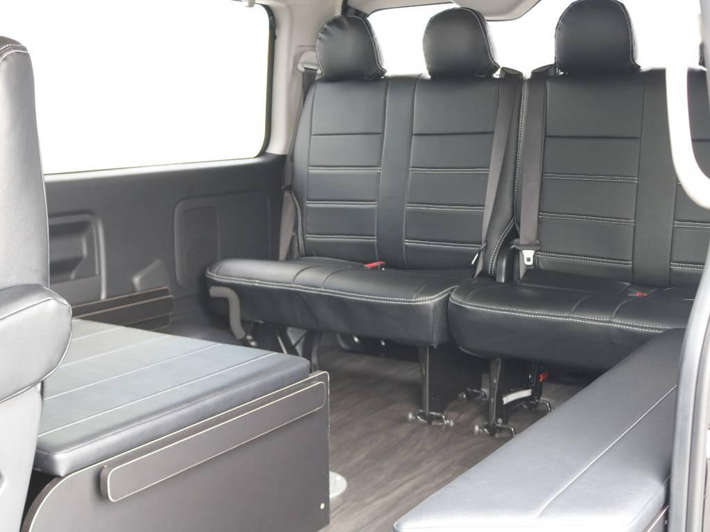 乗車定員は前向き8人後ろ向き2人の合計10人乗りです! | トヨタ ハイエース 2.7 GL ロング ミドルルーフ TSS付 R1