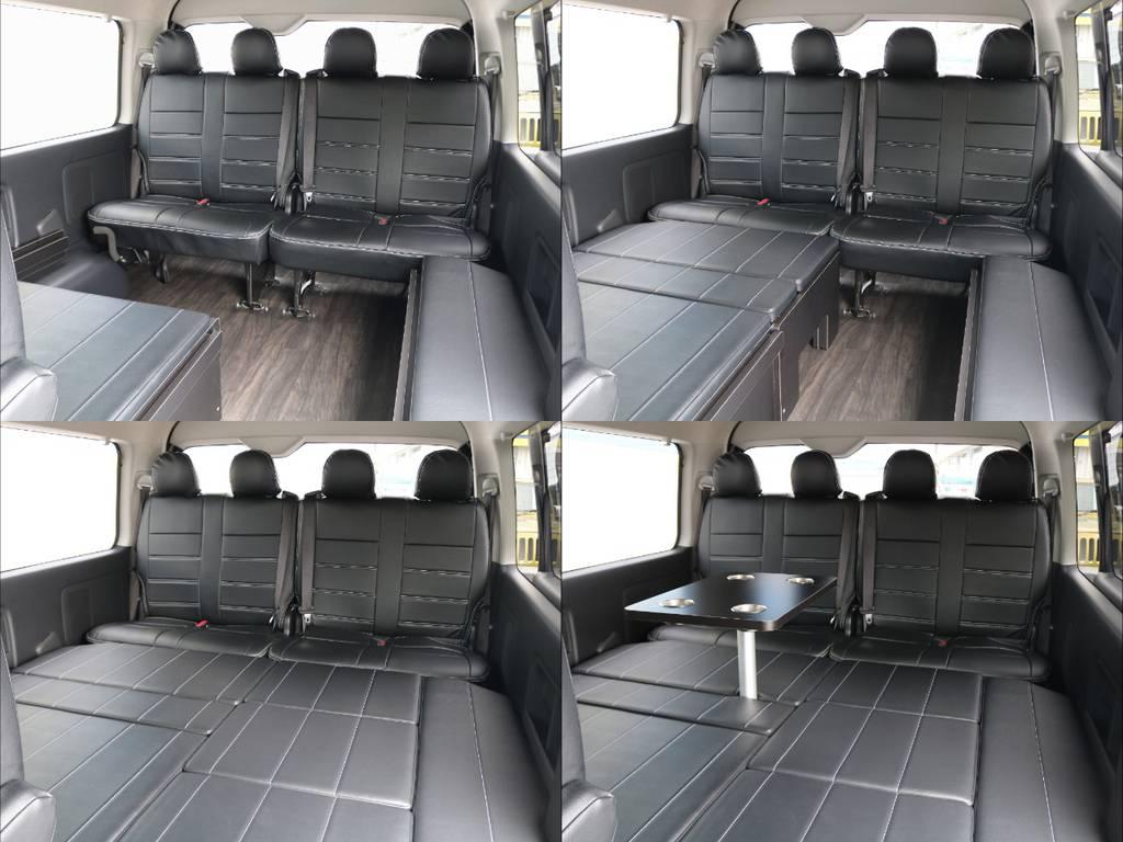 キャンプ、車中泊、ペットとのドライブなど幅広く対応できます♪ | トヨタ ハイエース 2.7 GL ロング ミドルルーフ TSS付 R1