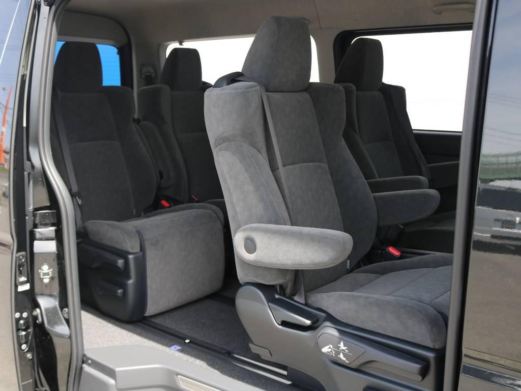 トヨタ車体純正内装架装♪ | トヨタ ハイエース 2.7 GL ロング ファインテックツアラー 4脚キャプテンシート 両側自動ドア