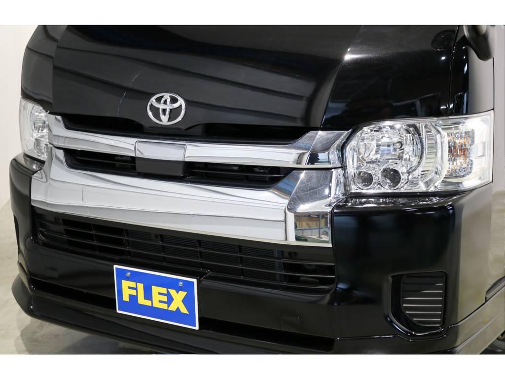 DX-GLパッケージ メッキフロントグリル!トヨタ・セーフティ・センスも搭載されております!