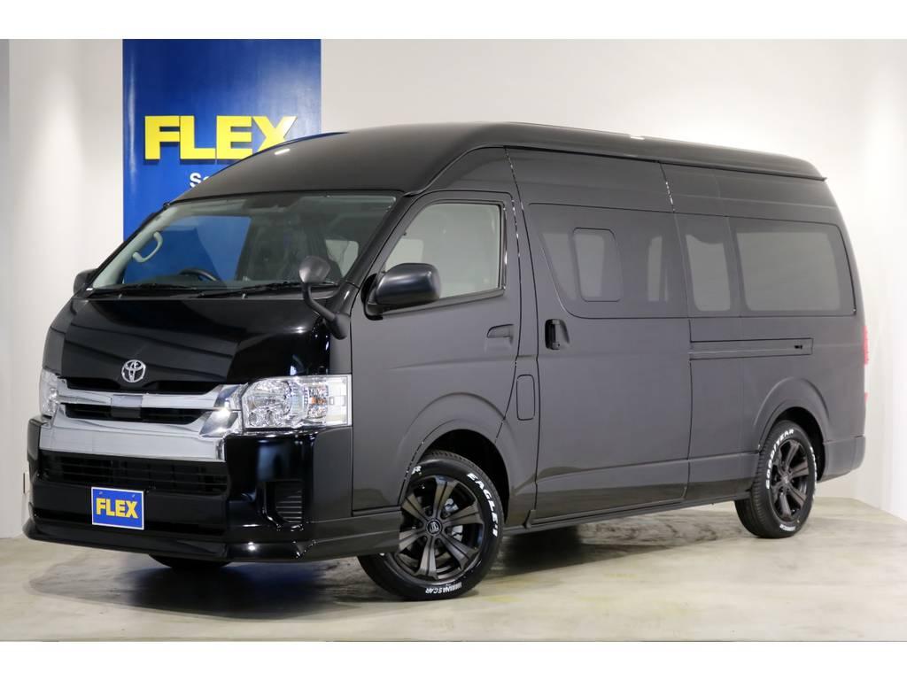 特設202ブラック 新車 ハイエースバン DX-GLパッケージ 4WD 2.8クリーンディーゼルターボ 寒冷地仕様