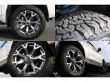 FLEXオリジナル20インチAW&BFグッドリッチKO2の組み合わせ★20インチの大径ホイールにブロックタイヤの組み合わせが現代の4WDといった印象です♪