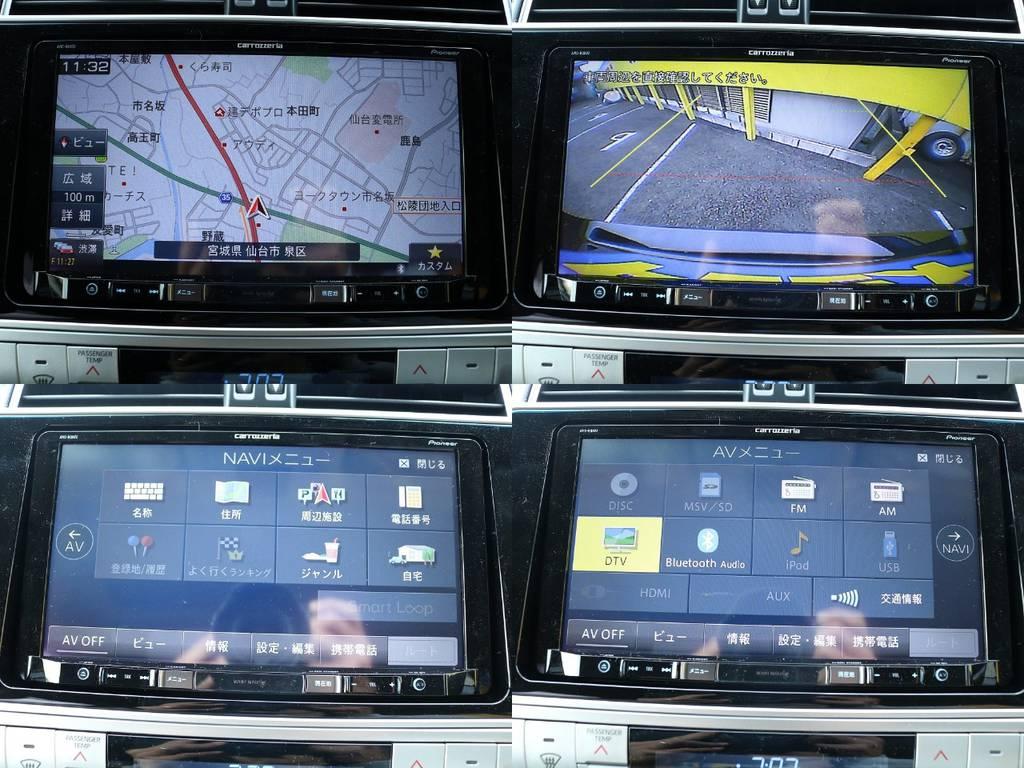 日々の買い物からロングドライブまで大活躍のカロッツェリア製9インチナビは車両価格に含まれており大変お得です♪もちろんバックカメラも付いていますので運転も安心ですね☆ | トヨタ ランドクルーザープラド 2.7 TX 4WD 5人 17AW&KO2 9ナビBカメ